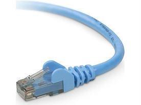 (Cat6 Patch Cable Rj45m/Rj45m 10Ft Blue
