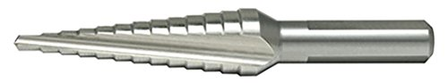 Alfa Cone (Alfa Tools MB52501 Style A High-Speed Steel Probit Cone Drill with Bright Finish and 2 Flutes)