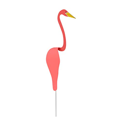 Flamingo Wind Chimes Watermelon Red Swirl Bird Gardening Decoration Spinning with Breeze Spins with The Slight Garden Wind Sculpture Art and Chime Bells Decorate Family Yard and Backyard Party (20)
