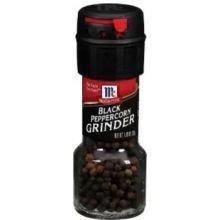 McCormick Black Peppercorn Grinder, 1 Ounce - 36 per case.
