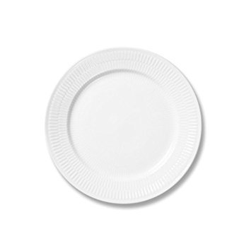 Royal Copenhagen White Fluted Salad/Dessert Plate 9 -
