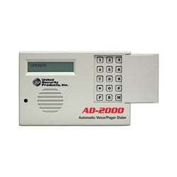 United Security Products AD2000 USP Automatic Voice Dialer, 4 Messages ()