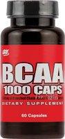 Optimum Nutrition BCAA Caps 1000 - 1000 mg - 60 Capsules