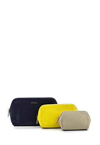 Navy B L Cosmetic Case Set giallo Electra C wgISXqW