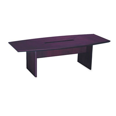 Mayline Corsica Series Boat Shape Conference Table Top- MLNCT72MAH - Mayline Corsica Boat