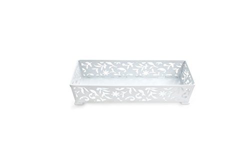 Design Ideas Vinea Storage Drawer, 3 by 9-Inch, White ()