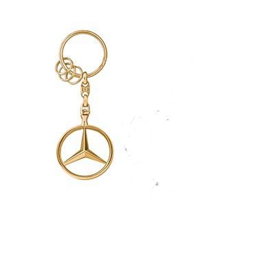 Mercedes Benz Star Key Ring