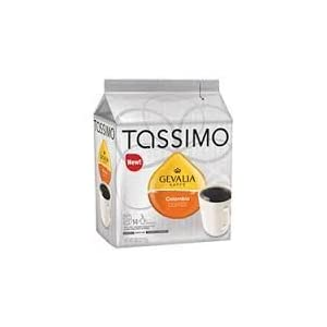 Gevalia Kaffe, Colombia Coffee, 14-Count T-Discs for Tassimo Coffeemakers