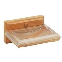 oak soap dish - 1