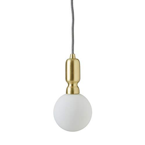 Rivet Diana Modern Globe Pendant With  Bulb, 80