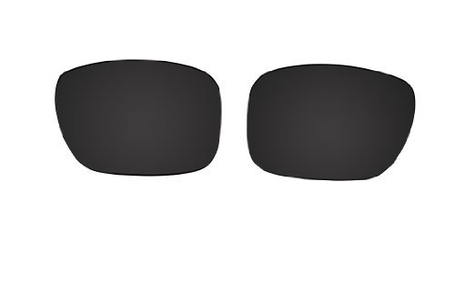Polarized Replacement Sunglasses Lenses for Oakley Holbrook with UV Protection(Black) by C.D