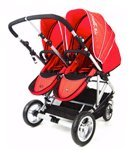 STROLL-AIR My DUO Stroller-red