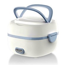 Electric Rice Cooker 1-2 People 1.2l 220v 200w Multipurpose Mini Rice Warm Box Personal Stainless Steel Liner Rice Cooker C143