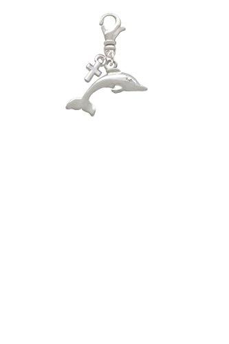Mini Antiqued Cross Charm - 9
