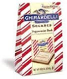 Ghirardelli Limited Edition Peppermint Bark Squares Bag, Xsmall, 0.83 oz.