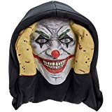 Scary Peeper Evil Clown It Inspired Look Halloween Prop - True-to-Life Pennywise Evil Jester That Peers in Your Window to Frighten Trick-Or-Treaters]()