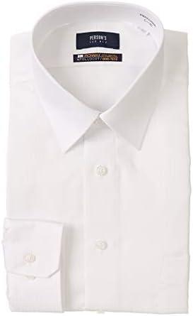 [PERSON'S FOR MEN] レギュラーカラースタイリッシュワイシャツ【NON IRONMAX】 オールシーズン用 PMAX1100A