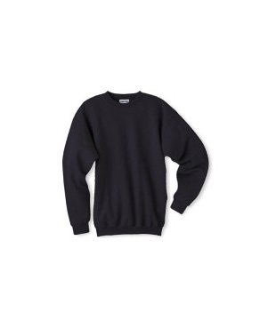 - Ultimate Cotton Fleece Crew 10 oz (Pack of 1) Size:Large Color:Deep Navy