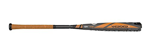 DeMarini Voodoo Balanced -13 Drop 2 1/4' Baseball Bat, Gray/Orange/Black, 32'/19 oz