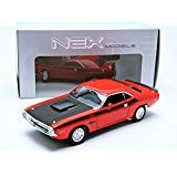Orange Dodge Model - New 1:24 W/B WELLY COLLECTION - ORANGE 1970 DODGE CHALLENGER T/A Diecast Model Car By Welly