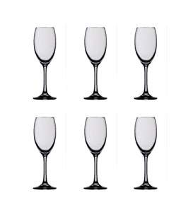 Spiegelau Festival Champagne Flute Glass, 8 Ounces, Set of 6 Glasses, Made in Germany ()