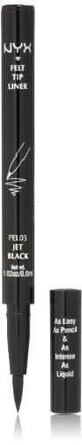 NYX Felt Tip Liner, Jet Black,