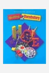 Houghton Mifflin Spelling and Vocabulary, Level 4 Paperback