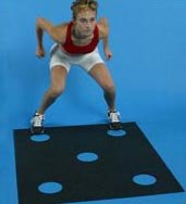Stroops Dot Drill Mat by ATHLETIC SPEED EQUIPMENT, INC.