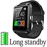 DOESIT Smart Watch,Touch Screen Bluetooth Smart Watch with Sleep Monitoring Heart Rate Monitoring for Android Phone