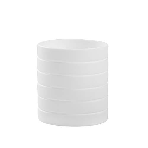 (BRANDWINLITE Wholesale 6pcs/pack Single Colors Blank Silicone Wristbands Rubber Bracelets)