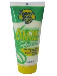 Banana Boat Aloe After Sun Lotion