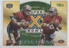 Steve Young (Football Card) 1996 Classic NFL Experience - Super Bowl XXX Die-Cuts Show Promos #7C
