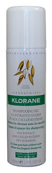Klorane Extra Gentle Dry Shampoo with Oat Extract