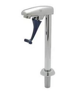T&S Brass B-1210 Pedestal Push Back Glass Filler -- FREE SHIPPING   B01K1YR4A8