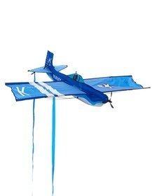 45 Inch Corsair U.S. Navy Fighter Plane 3D Wind Force Kite, Blue
