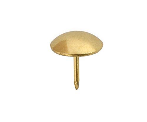 Sysfix 3312021 - Pack de 100 tachuelas latonadas (hierro, 20 mm)