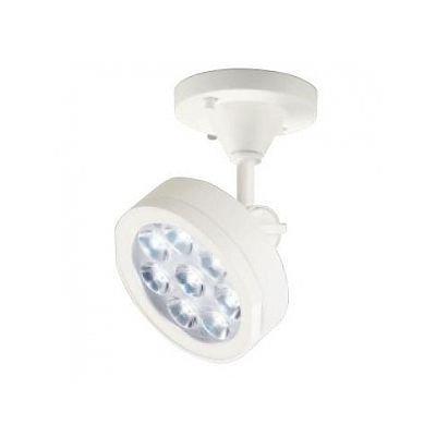 LEDスポットライト ハロゲン(JDR)75Wクラス フレンジタイプ 電球色 光束698lm 配光角26°オフホワイト   B07RZPQCMP