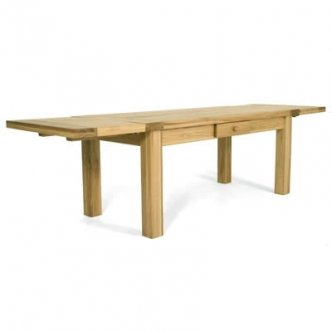 Zocalo Furniture Harvest 60in Extending Dining Table With Leaves HV15 HV15.1