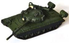 1/72 T-80B 主力戦車 1980式 (エリート隊、コマンドシールド付き w/エッチングパーツ) MODAS72026