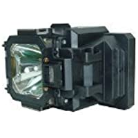 Mogobe Replacement Projector Bulb / lamp In Housing Fit EIKI LC-XG250 LC-XG250L LC-XG300 LC-XG300L SANYO PLC-XT20 PLC-XT21 PLC-XT25 610-330-7329