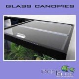 (Deep Blue Professional ADB34813 Standard Glass Canopy Set, 48 by 13-Inch)