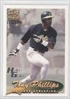 Tony Phillips  115 199  Baseball Card  1999 Pacific Paramount    Base    Holo Gold  172