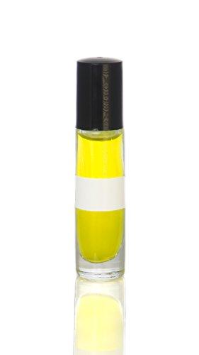 FragranceBodyOilz Impression of Black Phantom by Kilian (1/3oz Roll On) Unisex Men Women Premium Hypoallergenic Cologne Perfume Body Oil, Affordable Generic Version