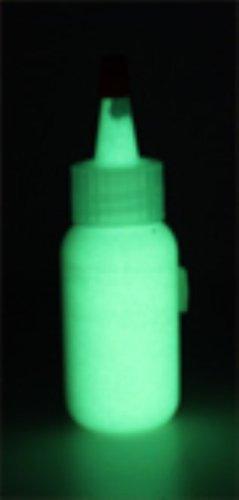 GREEN INVISIBLE UV Body Paint, Black Light Liquid Paint 4oz]()