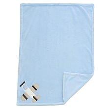Mod Pod Pop Wheels Boa Blanket Blue