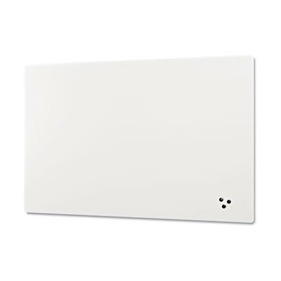 Elemental Frameless Markerboard, Porcelain Steel, White Glossy, 96 x 48 x 1/8, Sold as 1 Each by Generic