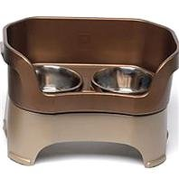 Neater Feeder 100-2 Dog Bowl Color: Bronze, Size: Large