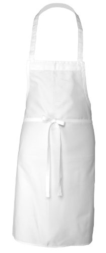 Chef Works Bib Apron (APKDC) (White Cook Apron compare prices)