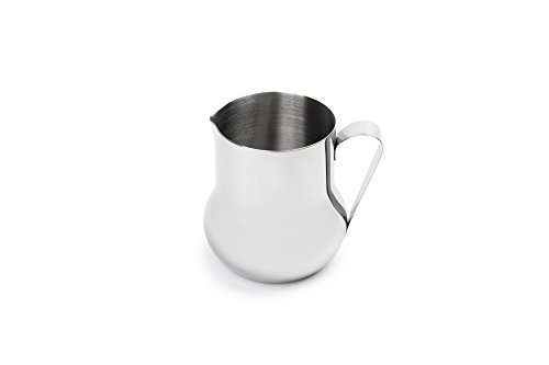 Fox Run 6518 Creamer/Frother Pitcher, 4 x 2.75 x 3.5 inches, Metallic ()