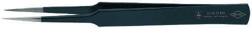 KNIPEX 92 28 72 ESD Precision Tweezers [並行輸入品] B078XLPCFS